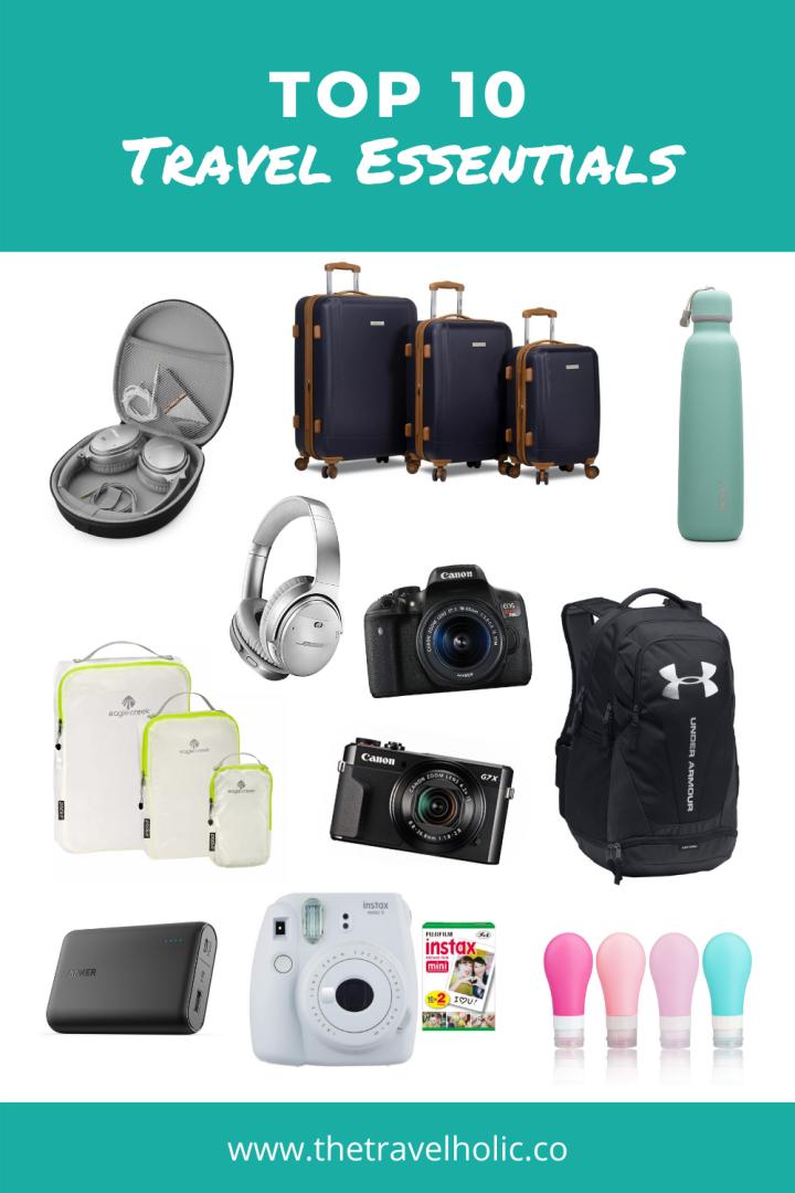 My Top 10 TravelEssentials